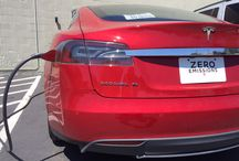 Tesla Motors at the Boulder Inn / Different Tesla Motor cars that have charged at the Best Western Plus Boulder Inn / by BEST WESTERN PLUS Boulder Inn