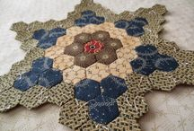 hexigon quilts