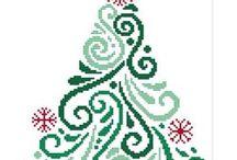 Vianočné višívanie