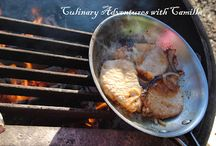 Cooking in the Wild / Recipes for cooking over a campfire