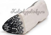 Lace patterns - jolis motifs de dentelle