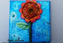 MMMC #4 - September 2014 / Winners of the August 2014 Mixed Media Monthly Challenge