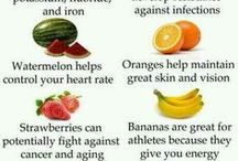 Healthy / Fruits and ingredients