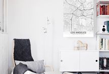 City Maps / Proudly display the cities you love!