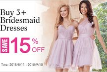 Bridesmaid dresses by LandyBridal / http://www.landybridal.co/