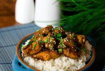 Asiatisch Gerichte