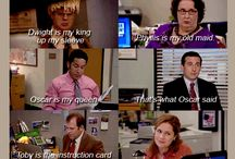 You got me hooked on this show congrats I'm changed forever / The Office