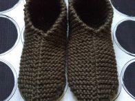 Schuhe stricken