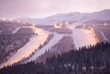 past ski adventures.