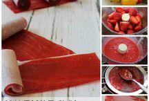 Fruits leather recipe