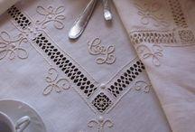 white elegant textile