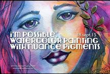 pigment powder paint