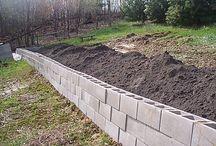 múr do záhrady