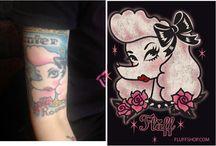 Miss Fluff Tattoos