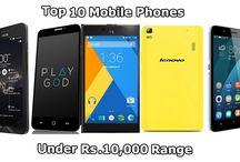 Top 10 Mobile Phones under Rs. 10000 Range (August 2015)