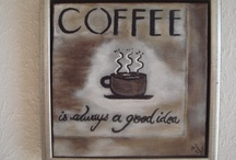 Anjis Art Coffee Hand Painted Signs / Coffee hand painted signs and wooden hand painted signs for sale www.anjisart.com