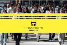 TransparenT Detectives / Discreción, profesionalidad y resultados. Ratificaciones judiciales. Licencia Min. Interior nº 3377 Col. nº 310 ADA nº 21 Tel. 616 340 24 / 900 494 176