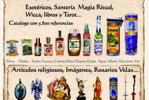 Productos exotios, de magia ritual, demas