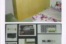 Slaapkamer op Java-eiland / Voorstel ontwerp slaapkamer (voor en na). Design by JRL's