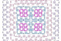 Şablonlu tetris battaniye