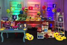 Festa emoji - 15 anos