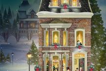 christmas hus