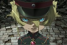 Youjo senki / Saga of Tanya the evil / Saga of Tanya the Evil, known in Japan as Yōjo Senki, is a Japanese light novel series written by Carlo Zen and illustrated by Shinobu Shinotsuki. Enterbrain has published seven volumes since October 31, 2013. A manga adaptation with art by Chika Tōjō began serialization in Kadokawa Shoten's Comp Ace magazine from April 26, 2016. An anime television series adaptation by NUT aired from January 6, 2017 to March 31, 2017.  https://www.youtube.com/watch?v=xbdAM3WM_n8