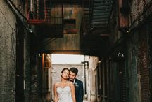 Urban wedding & engagement photography