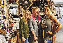 Bohemian Inspired Fashion I had the time of my life last week with these Superstar jewelry artists!  @artbyamylabbe and @kelsey_elainee10 I miss my jewelry therapy ❤️❤️❤️