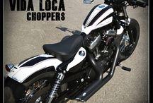 """Sportster Harley """"Sportster48"""" by Vida Loca Choppers / Sportster Harley 48 Designed by Vida Loca Choppers in 2011"""