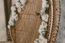 ✖ Mariage rustique et bohème ✖ / Idées pour l'organisation d'un mariage. Thèmes boho, champêtre. DIY, robes de mariées etc...