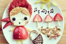Fun Foods For Kids / Neşeli Tabaklar!