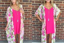 Kimonos, Dusters, Cardi's, Jackets & Vests
