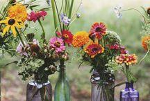 Flower Arrangements, natural elements