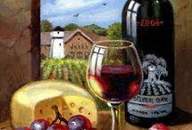 Dibujo vino