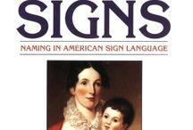 ASL/Deaf Culture Books