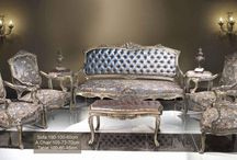 French Style #Seating Furniture - #Sofa, #Settee, #Banquette and #Salon Set / Seating antique furniture and upholstery of chair, arm chair, bergère, throne arm chairs, fauteuil, office chairs, canapé, salon sets, sofa, bar stools, banquette, gilded salon set, love seat, Biedermeier arm chair, Empire style swivel arm chair , foot stools, Mr & Mrs arm chairs, French style seating antique furniture, French style salon, Italian style seating antique furniture, Louis XV salon set, Louis XVI style sofa, living room and reception room use for luxury homes