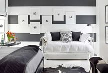 Black and White / Favorite black and white rooms and decor