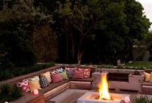 patio & fire pit ideas / Ideas for the patio and for the fire pit yet to come