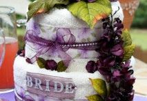 bridal shower cakes / by Destiny White
