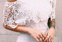 Fashion / White dress