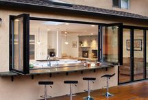 House: Indoor Outdoor Kitchens & Living Deck