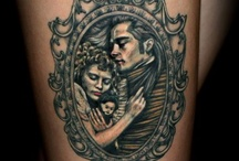 Tattoos I am getting / These are the Tattoos I am getting, Louis and Claudia in Louis coffin on my right thigh will be my first one, second one will be Lestat and Claudia on my right thigh, third will be full length of my back of David Bowie and his lyrics from Bring Me the Disco King and then I will be tattooing Christopher Walken and there is another picture of Louis that I want really bad put somewhere and then I am tattooing the back of my neck, but still thinking of what.