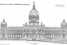 Historical Architecture / Plans, sketches, drawings and photos of historical architecture.