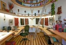 Reading Nooks & Spaces / Who wouldn't love their own perfect personal reading and relaxing space?