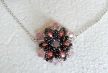handcrafted jewelry / beaded jewelry , seed bead necklaces