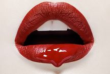 Lips we love / The hottest looks and latest trends in lipstick ... with a definite leaning towards RED lipstick!