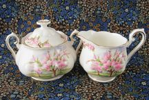 Time for Tea! Vintage China, Teacups and Linens / Tea time necessities, beautiful tabletop vintage china, teacups, tablecloths and napkins.