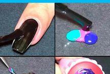 #Nails art trick