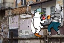 Street arts.